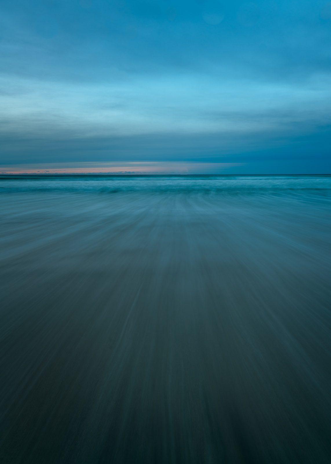 Solnedgang på Skagsanden av Kåre Johansen