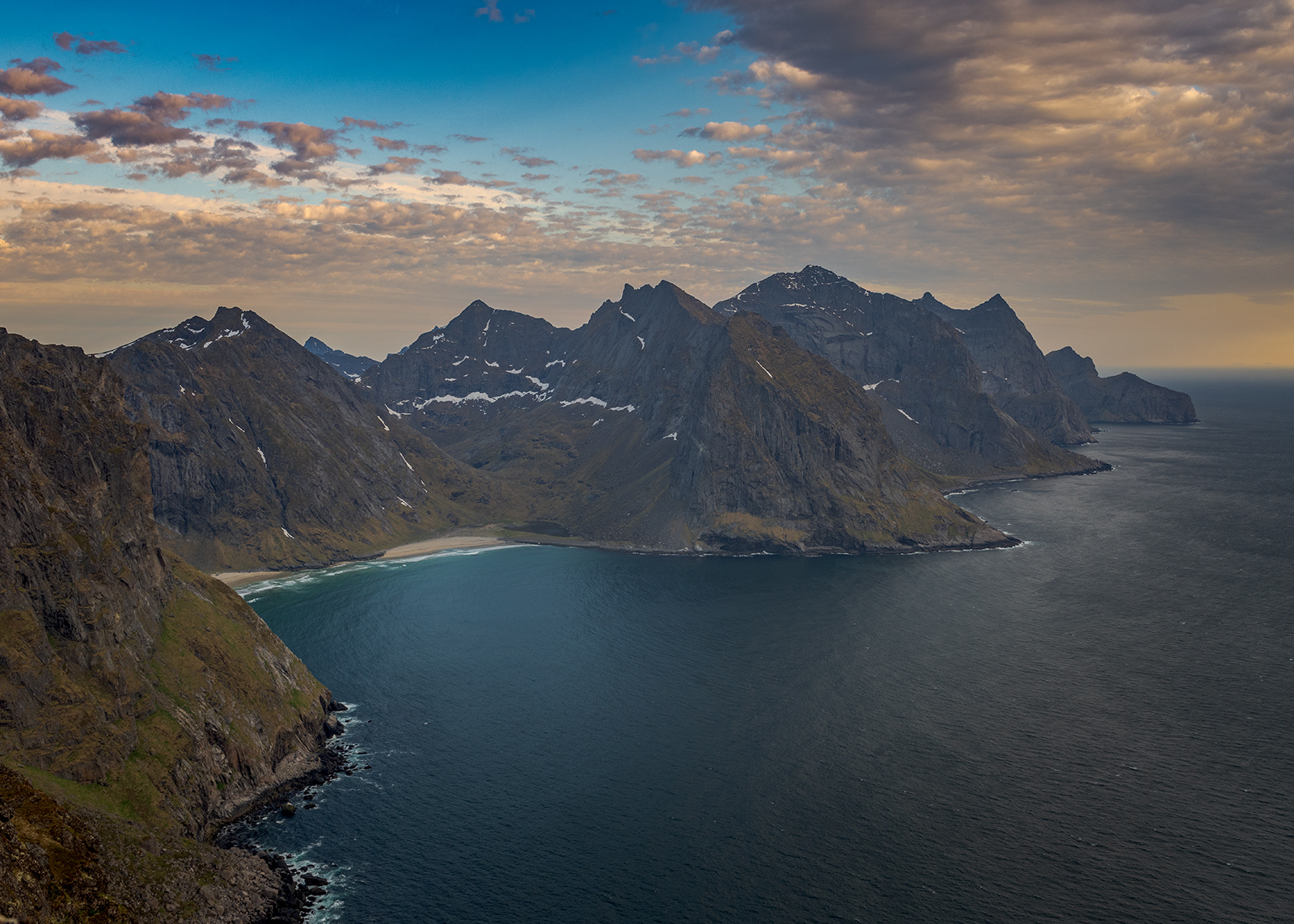 Utsikt fra Fuglehuken av Kåre Johansen