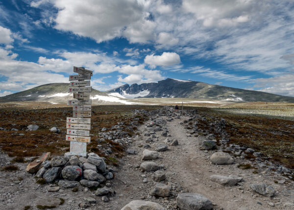 På vei mot toppen av Kåre Johansen