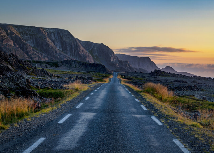 Veien til Hamningberg av Kåre Johansen