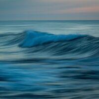 Bølger, fotokunst veggbilde / plakat av Kåre Johansen
