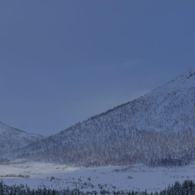 Vinterdag i Vesterålen, fotokunst veggbilde / plakat av Kåre Johansen
