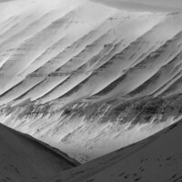 Landskap på Svalbard, fotokunst veggbilde / plakat av Kjell Erik Reinhardtsen