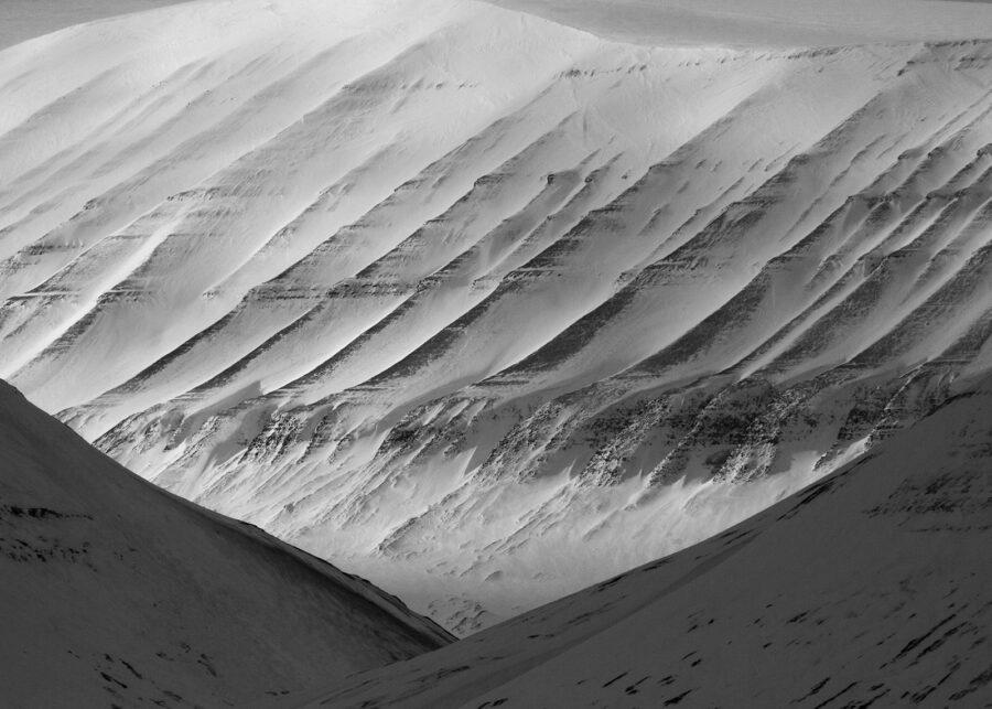 Landskap på Svalbard av Kjell Erik Reinhardtsen