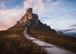 Alpelandskap i Italia, fotokunst veggbilde / plakat av Kristoffer Vangen