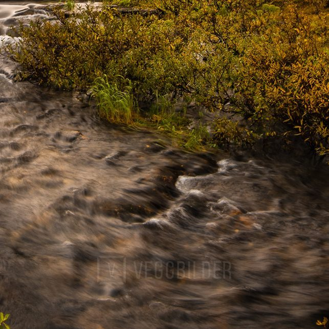Høstfarger, fjell og vinter, fotokunst veggbilde / plakat av Kristoffer Vangen