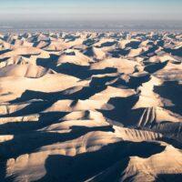 utsikt over svalbard på vinteren, fotokunst veggbilde / plakat av Kristoffer Vangen