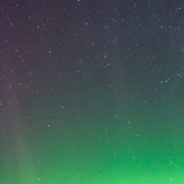 Nordlys over Bitihorn, fotokunst veggbilde / plakat av Magne Tveiten