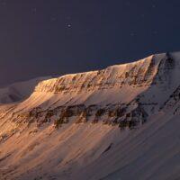 Svalbard i mørketid, fotokunst veggbilde / plakat av Magne Tveiten
