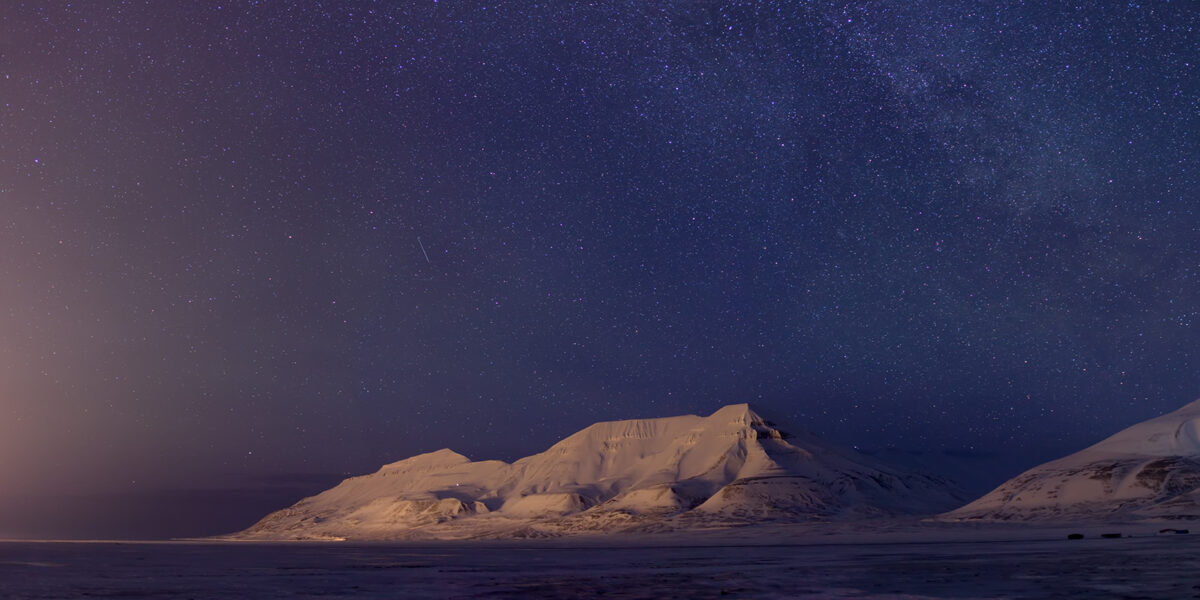 Hiortfjellet, fotokunst veggbilde / plakat av Magne Tveiten
