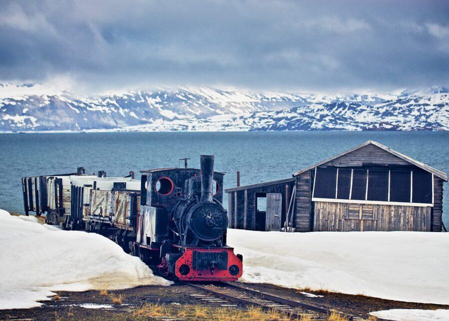 Verdens nordligste jernbane av Peder Aaserud Eikeland