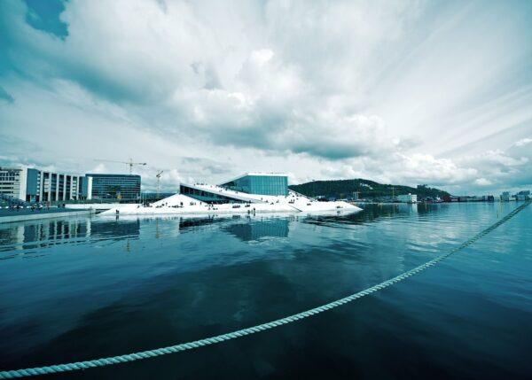 Den norske opera, fotokunst veggbilde / plakat av Peder Aaserud Eikeland