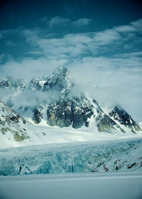 Spitsbergen III av Peder Aaserud Eikeland