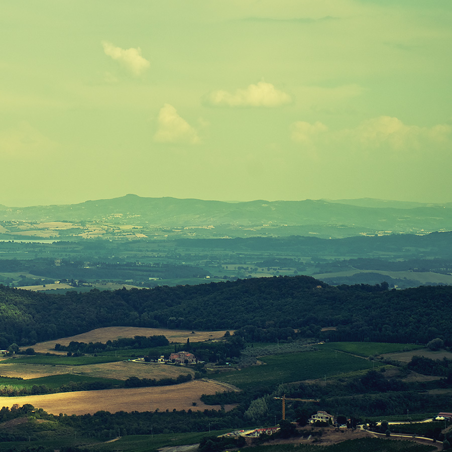 Toscana åkere av Peder Aaserud Eikeland