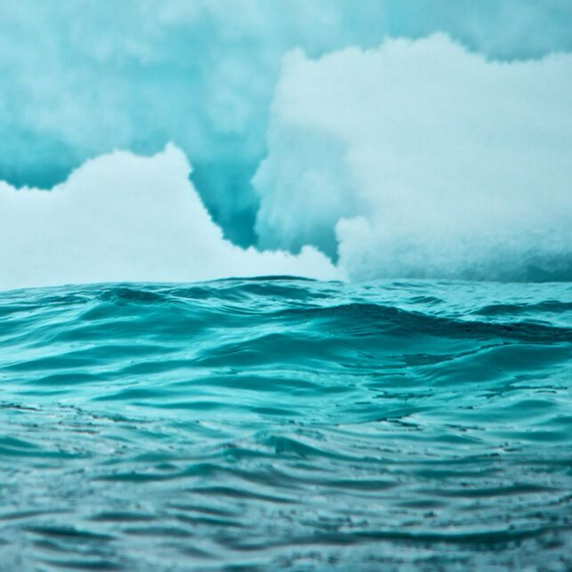 Ishav i Arktis, fotokunst veggbilde / plakat av Peder Aaserud Eikeland