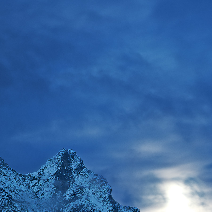 Store Skagastølstind solnedgang av Peder Aaserud Eikeland