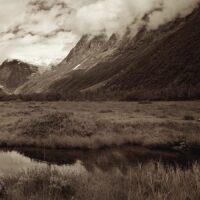 Fjellandskap fra Tungestølen, fotokunst veggbilde / plakat av Peder Aaserud Eikeland