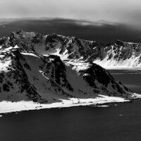 Svalbard fjord panorama, fotokunst veggbilde / plakat av Peder Aaserud Eikeland
