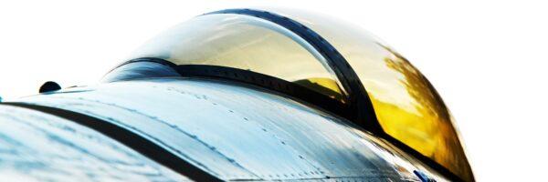 Abstrakt F-16 cockpit, fotokunst veggbilde / plakat av Peder Aaserud Eikeland