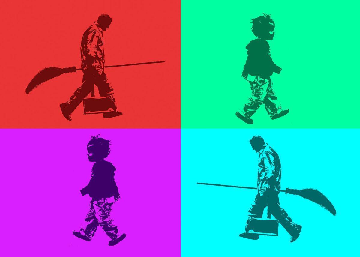 Walk of life, fotokunst veggbilde / plakat av Peder Aaserud Eikeland