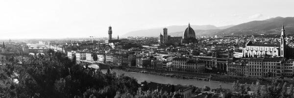 Firenze by panorama, fotokunst veggbilde / plakat av Peder Aaserud Eikeland