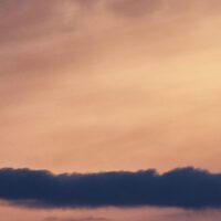 Solnedgang over Hadeland av Peder Aaserud Eikeland