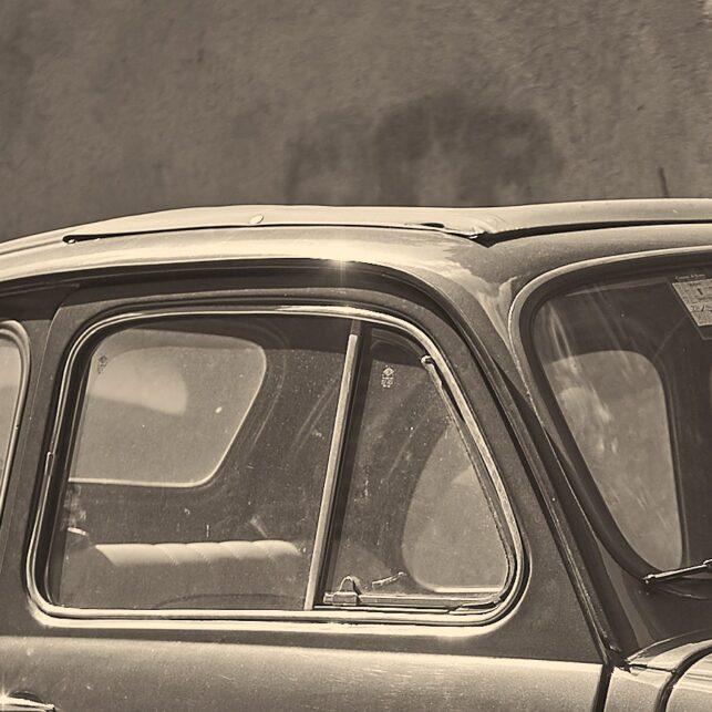 Retro Fiat i Roma, fotokunst veggbilde / plakat av Peder Aaserud Eikeland