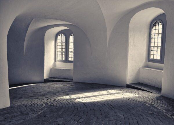 Rundetårn København, fotokunst veggbilde / plakat av Peder Aaserud Eikeland