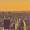Manhattan vakker solnedgang av Peder Aaserud Eikeland