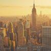 Empire State Building solnedgang av Peder Aaserud Eikeland