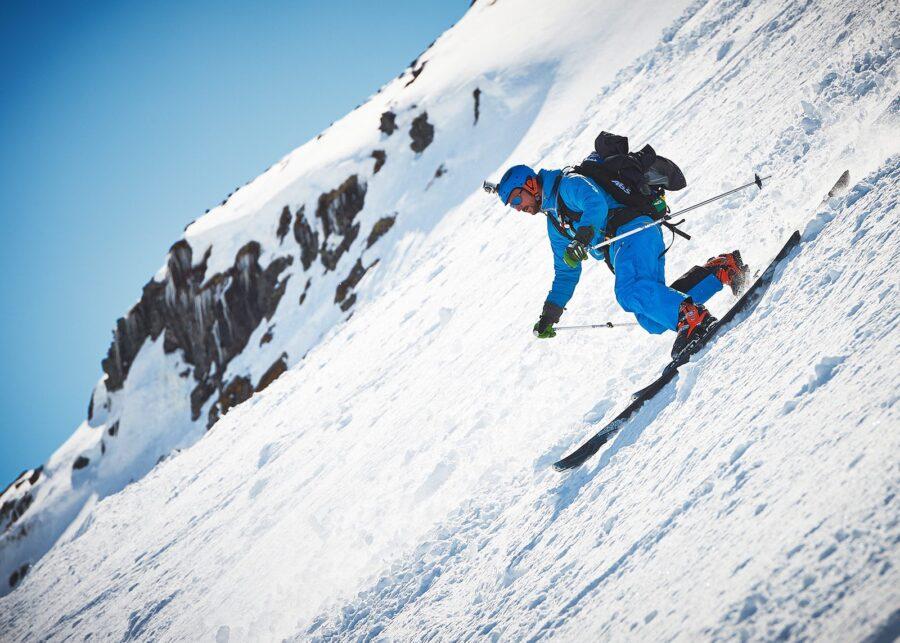 Kronprins Haakon på telemark ski av Peder Aaserud Eikeland