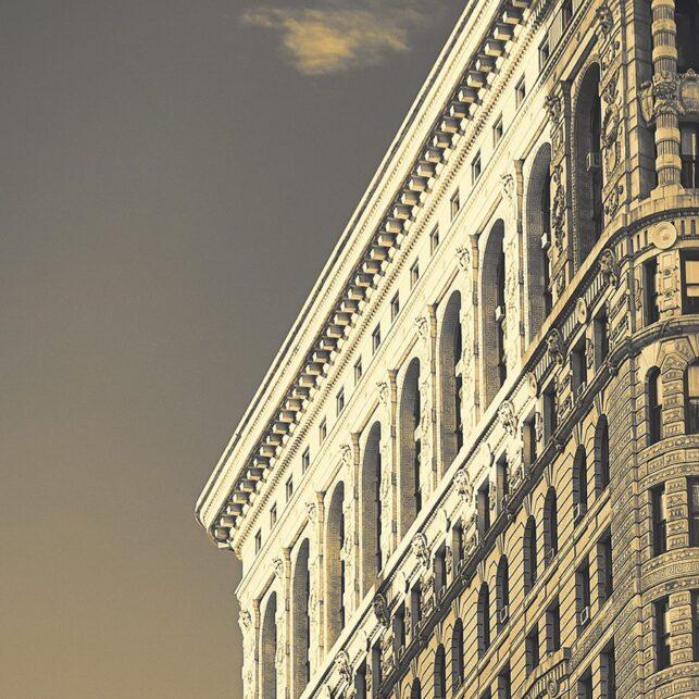 Flatiron New York, fotokunst veggbilde / plakat av Peder Aaserud Eikeland
