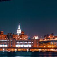 Brooklyn Bridge og Manhattan, fotokunst veggbilde / plakat av Peder Aaserud Eikeland