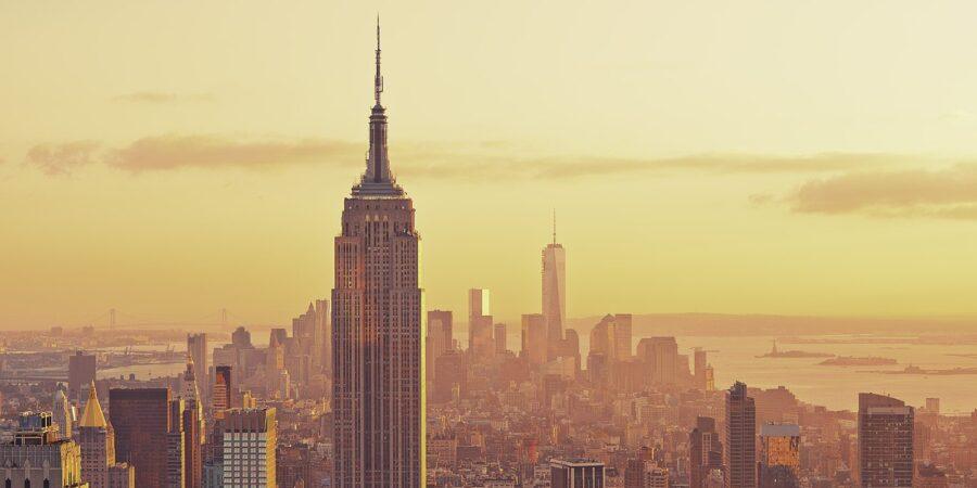 New York skyline morgenlys av Peder Aaserud Eikeland