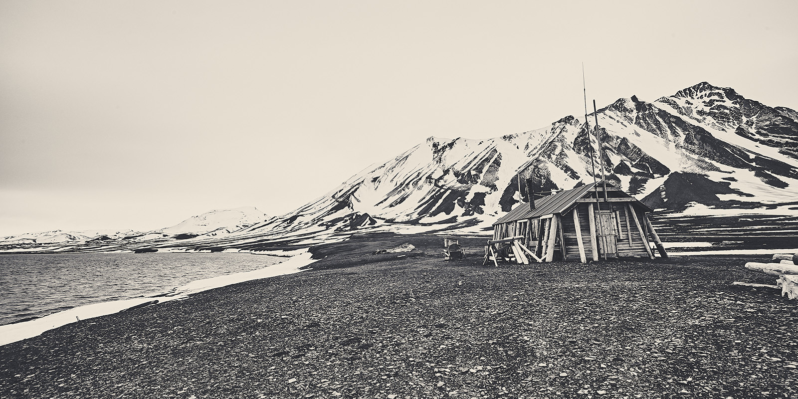 Fangsthytte på Svalbard av Peder Aaserud Eikeland