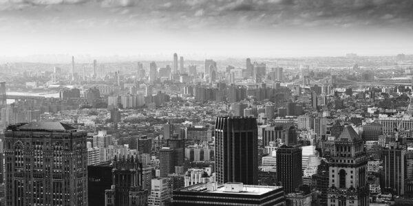 Brooklyn skyline, fotokunst veggbilde / plakat av Peder Aaserud Eikeland