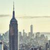 New York skyline morning glory av Peder Aaserud Eikeland