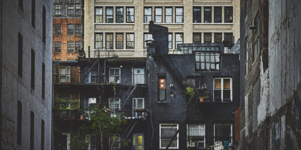 New York bebyggelse, fotokunst veggbilde / plakat av Peder Aaserud Eikeland