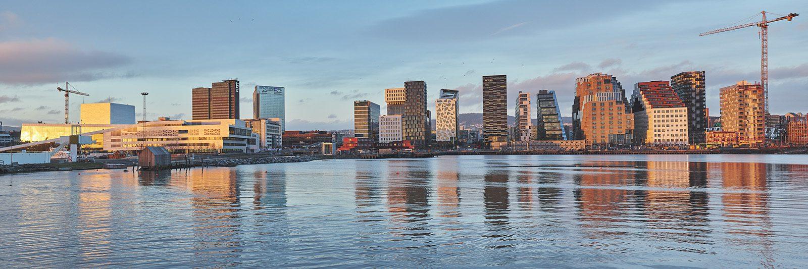 Oslos nye skyline av Peder Aaserud Eikeland