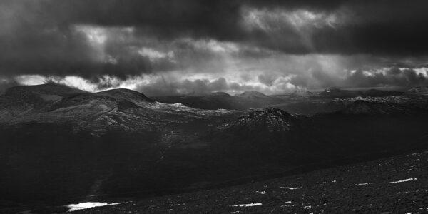 Gjennombrudd i horisonten, fotokunst veggbilde / plakat av Peder Aaserud Eikeland