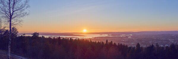 Oslo panorama fra Grefsenkollen av Peder Aaserud Eikeland