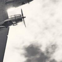Dakota DC-3, fotokunst veggbilde / plakat av Peder Aaserud Eikeland