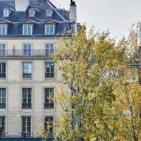 Høstdag langs Seine, fotokunst veggbilde / plakat av Peder Aaserud Eikeland