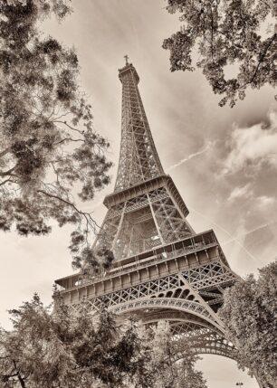 Eiffeltårnet innrammet, fotokunst veggbilde / plakat av Peder Aaserud Eikeland