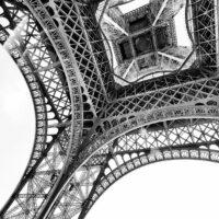 Eiffeltårnet Utsnitt I, fotokunst veggbilde / plakat av Peder Aaserud Eikeland