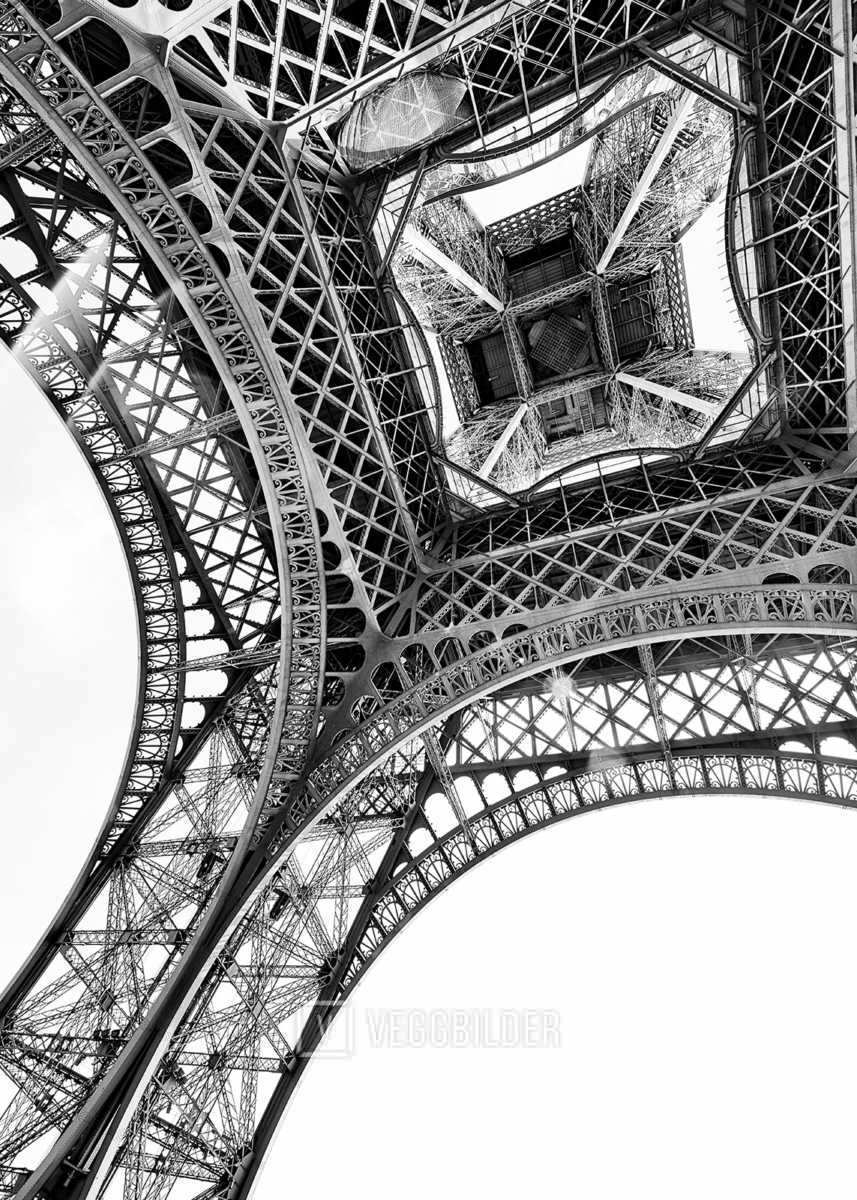 Eiffeltårnet Utsnitt I av Peder Aaserud Eikeland