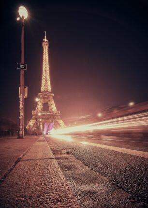 Broen til Eiffeltårnet, fotokunst veggbilde / plakat av Peder Aaserud Eikeland
