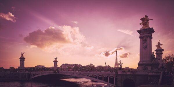 Pont Alexandre III, fotokunst veggbilde / plakat av Peder Aaserud Eikeland