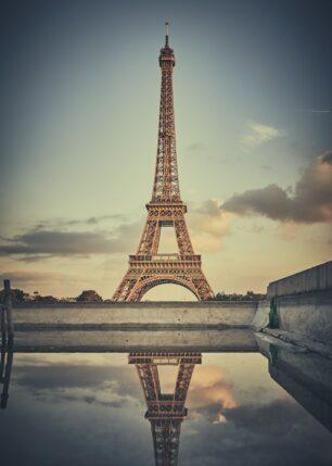 Eiffeltårnet fra Trocadéro, fotokunst veggbilde / plakat av Peder Aaserud Eikeland
