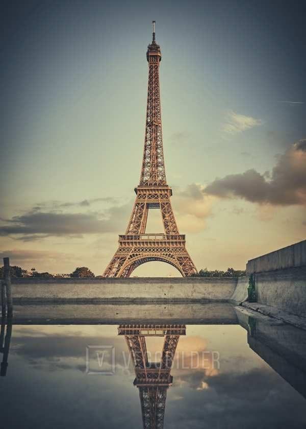 Eiffeltårnet fra Trocadéro av Peder Aaserud Eikeland